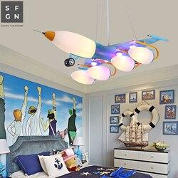 Żyrandol żyrandole sufitowe led lampy sufitowe dziecinne kreskówki żelaza oprawy oświetleniowe do pokoju dziecięcego sypialnia dzieci badania