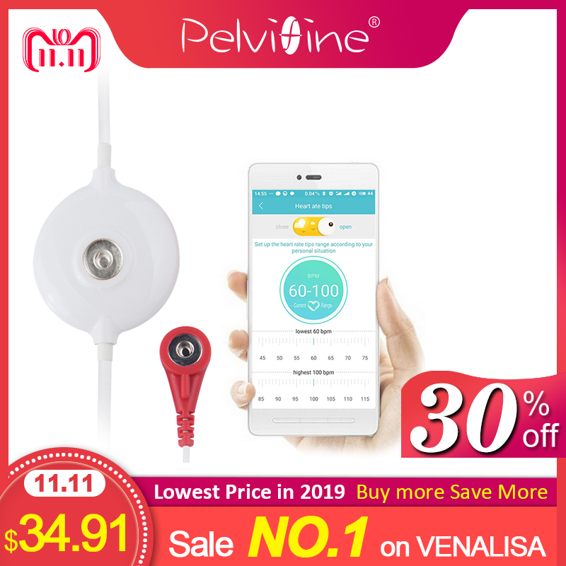 Pelvifine Mini Portable Wearable ECG Monitor Measurement Machine EKG Real-time Heart Support Electrode Holter For Android System