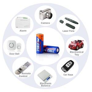Image 5 - Bateria alcalina 8f10r k23a l1028 23a a23 v23ga mn21 23a 12 v baterias primárias e secas para lâmpada 24 pces pkcell 12 v 23a bateria alcalina