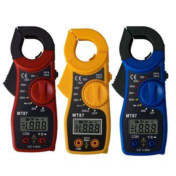 цена на MT87 LCD Digital Clamp Meter Multimeter AC/DC Ammeter Voltmeter Resistance Test