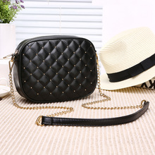 Spring New Style Fashion Womens Bag Small Fragrance Ling Chain Korean Edition Single Shoulder Skew Mini Free shipping