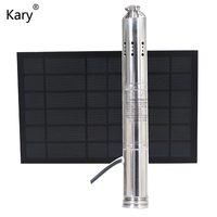 deep well solar pumping machine 12v dc submersible water pump