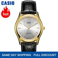 Casio watch Simple black belt pointer quartz male watch MTP-1094Q-7A MTP-1094Q-1A MTP-1094Q-9A MTP-1094E-7A MTP-1094E-7B цена 2017