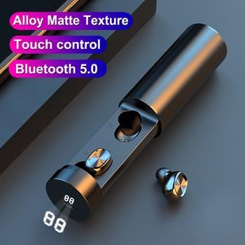 B9 TWS Bluetooth Earphone 5.0 Wireless 8D HIFI Sport Earphone MIC Earbuds Gaming Music Headset For Xiaomi Samsung Huawei