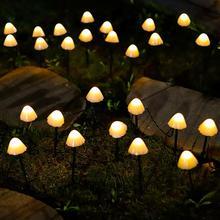 Led Solar String Light 7M 50Leds Garden Decoration Mushroom Lights Solar Garden Decorative Lamp Patio Decor Outdoor Fairy Lights