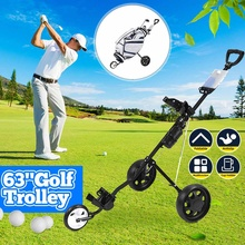 Golf-Trolley Range-Supplies Folding Multifunctional Adjustable Professional Outdoor Sports