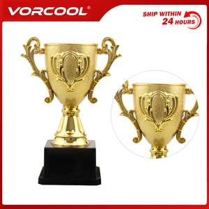14.3cm Plastic Trophy Kids Sports Competitions Award Toy with Base for School Kindergarten
