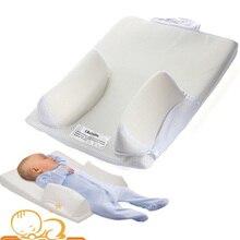 Baby Sleep Positioner Anti Roll Mat Safe Head Back Waist Support Mattress Sleeping Position Bed Pillow