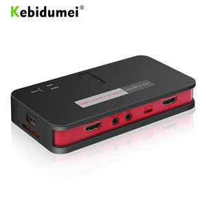 Game-Video-Capture Grabber Hdmi-Box PS3 Live-Streaming EZCAP XBOX Online-Video PS4 1080P