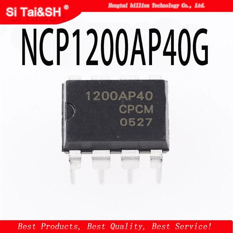 10PCS NCP1200AP40 = NCP1200P40    NCP1200 LCD Power Chip 1200AP40