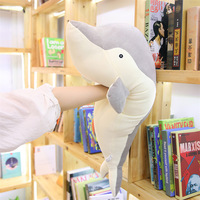 Software Plush Toys porpoise yu Pillow Whale Pillow Students Bolster Wedding Doll