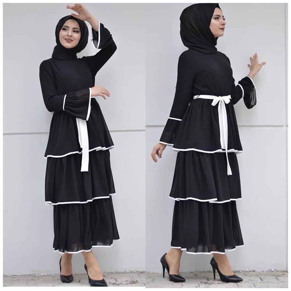 Elegant Muslim Fringed Dress Abaya Cardigan Maxi Kimono Long Robe Gowns Vestidos Middle East Eid Ramadan Turkish Islamic Prayer