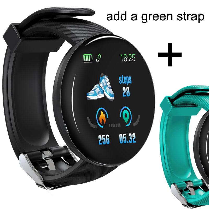 D18 add green strap