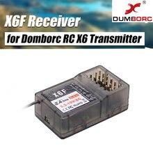 Radio-Control-System-Receiver Car-Transmitter Rc Boat Domborc X6F/X6FG