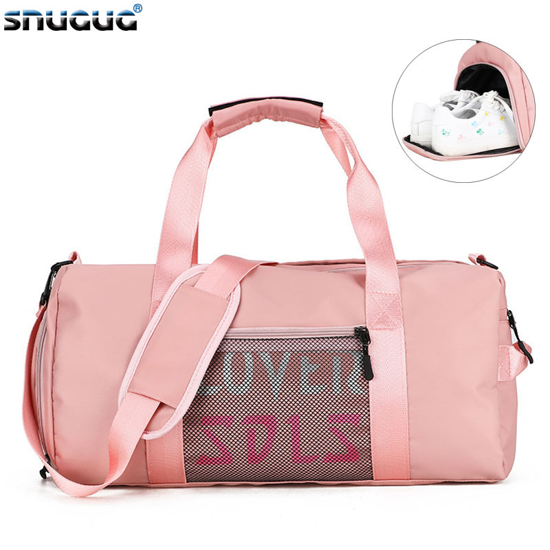 Sports Bag New Waterproof Fitness Bags For Men Multifunction Duffle Bag Women Luggage Travel Bags Oxford Women Training Bag