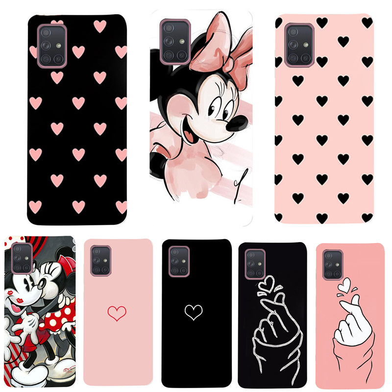 Case For Samsung A71 A51 A 51 Case Silicone Back Soft Cover For Samsung Galaxy A50 A50S A30S A10S A10 A20 A30 S20 Ultra Plus