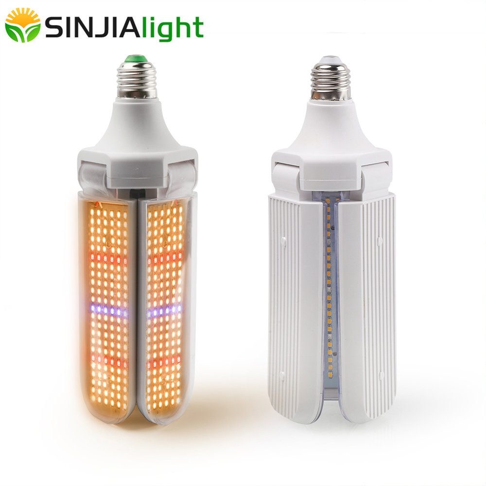 2019Newest LED Grow Light Full Spectrum Plant Lamp Warm Light Growing Bulb For Indoor Plants Seedling Flowers Fitolamp