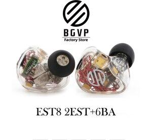 Image 2 - Bgvp ES12 ünitesi özelleştirilmiş dört statik elektrik demir Knowles ses özel model hifi kulak ateşi kulaklık