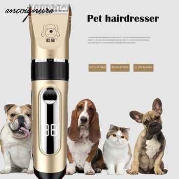 Hair Trimmer Metal Professional Hair Clipper Electric Cordless Hair Grooming Home Haircut Tondeuse Cheveux машинка для стрижки фото