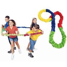 Juegos de correa elástica para niños y niñas, juguetes para niños, integración sensorial, actividades al aire libre