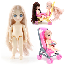 Blyth Lols Dolls 3D eyes  Reborn Moveable joint 16cm Surprise Toys BJD Baby Doll Naked Nude Women Body Dolls for Girls Gift Toy free shipping big discount rbl 299diy nude blyth doll birthday gift for girl 4colour big eyes dolls with beautiful hair cute toy