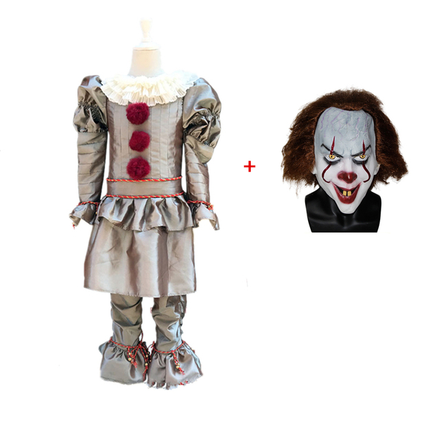 2019 It Chapter Two Pennywise Cosplay Costume Stephen King/'s It Halloween Outfit