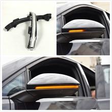 BODENLA Flow light Side Mirror Flowing Dynamic Blinker LED Turn Signal Light For VW Golf MK7 7 7.5 GTI R New Touran Sportsvan