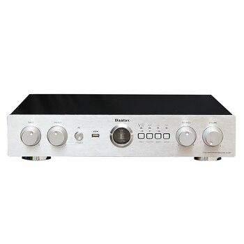 Bluetooth 4.0 HiFi 6N1 Tube High Power Amplifier 200W+200W 2.0 Channel Home Amplifiers USB APE FLAC WAV MP3 Lossless Playing