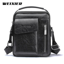 Casual Men Shoulder Bag Vintage Crossbody Bags