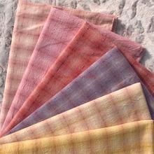 DIY Япония маленькая ткань группа Пряжа-окрашенная ткань, для шитья Лоскутное шитье ручной работы, сетка полоса точка