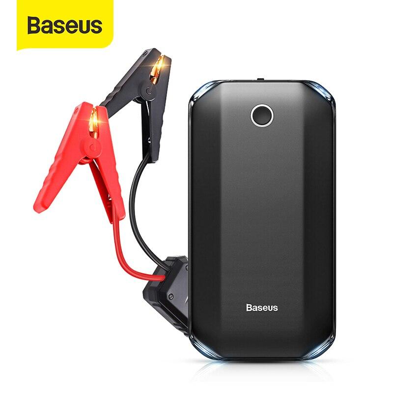Baseusราคาเริ่มต้นที่อุปกรณ์รถJump Starterแบตเตอรี่Power Bank 800A Jumpstarter Auto BusterรถฉุกเฉินBoosterจัมเปอร์Starter