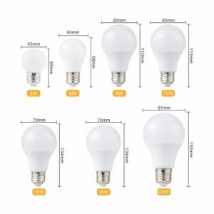 Image 3 - 6PCS LED Bulb E27 LED Lampada Ampoule Bombilla 3W 6W 9W 12W 15W 18W 20W LED Lamp Light 220V Cold/Warm White SMD2835 LED Lights