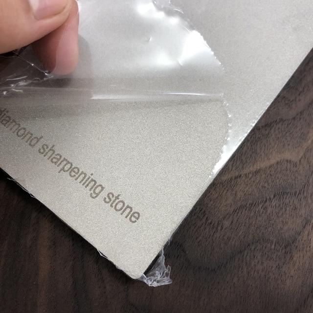 170*75MM Diamond Knife Sharpener Sharpening Stone Grit 80-3000# Grindstone Diamond Tools Fine Grinding Whetstone Kitchen Knives 5