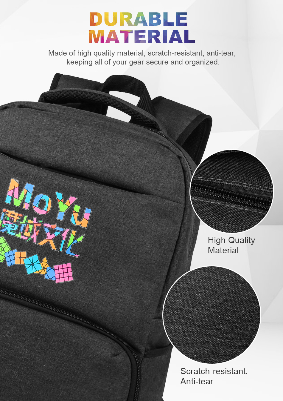 Moyu backpack for cube 6