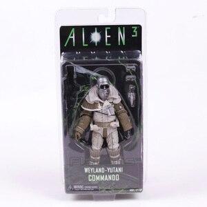 Image 4 - NECA ALIEN 3 Ellen Ripley/สุนัข Alien/Weyland Yutani หน่วยคอมมานโด Collection 7 Action FIGURE ของเล่น