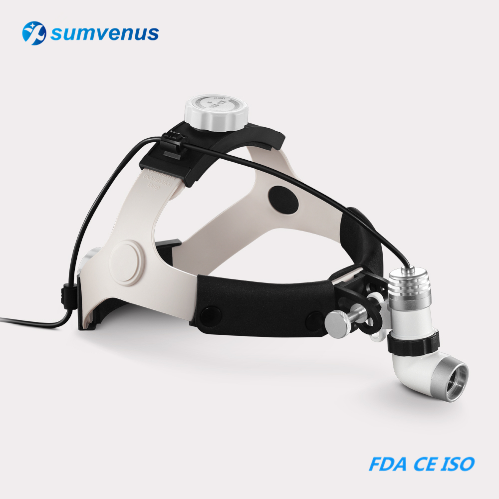 LED 3W AC/DC Dental Surgical Medical Examination Headlight Headlamp Head Light Lamp ENT Oral Cosmetic Surgery Pets KD-202A