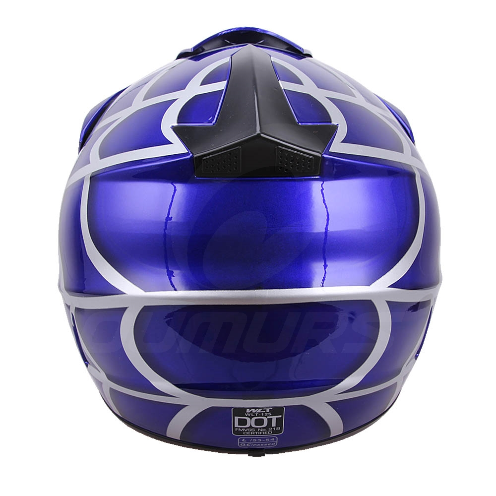OUMURS DOT Cool Web Style Motorcycle Children Helmet 8