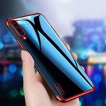 Прозрачный противоударный чехол-бампер из ТПУ для XiaoMi Mi 9 T Pro Mi 9 SE MiA3 Mi A 3 Mi 9 T Lite глобальная версия, мягкий чехол с 3D покрытием