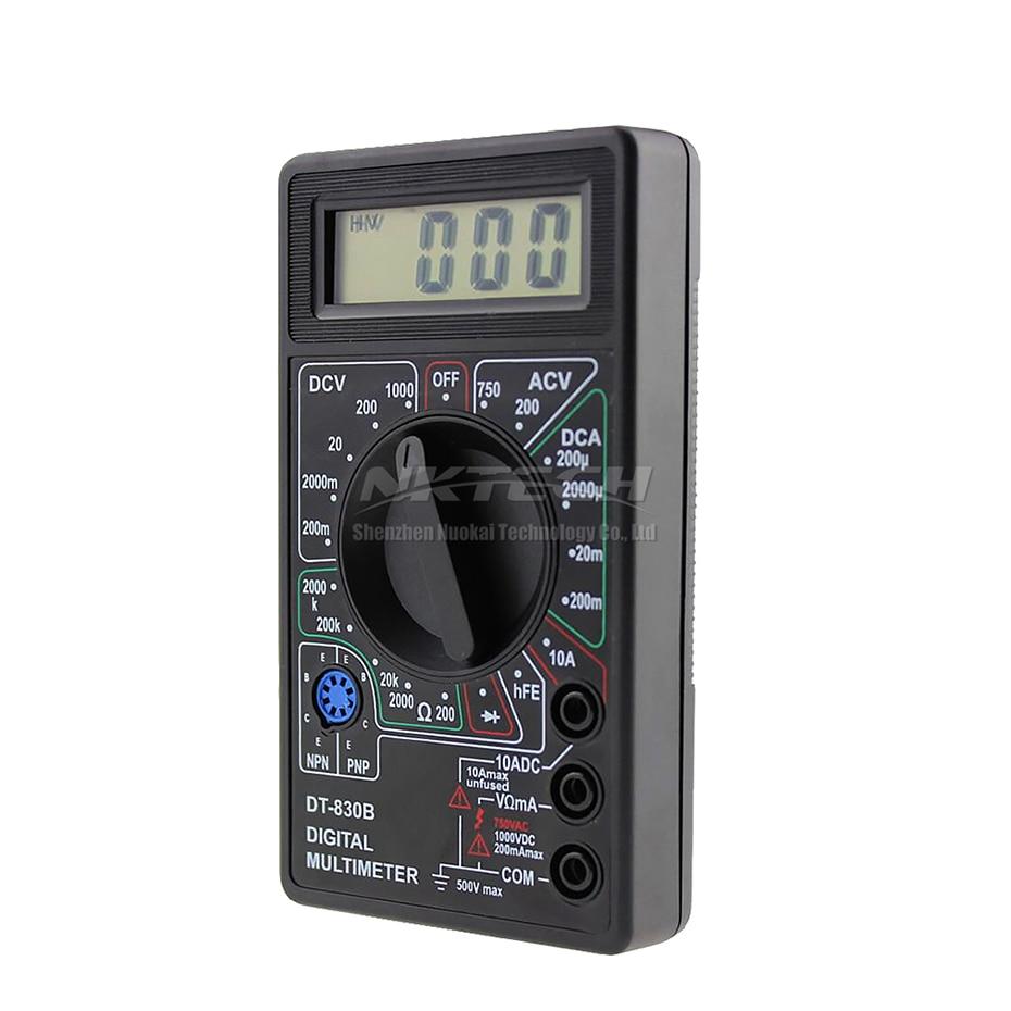 NKTECH DT830B skaitmeninis multimetras, kišeninis voltmetras, - Matavimo prietaisai - Nuotrauka 3