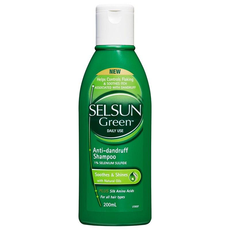 Australia Selsun Gold Amino Acid Shampoo Treatment Clean Soft Hair Problem Anti Dandruff Seborrheic Dermatitis Scaling Shampoo