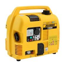 T1000 портативный бытовой бензиновый генератор домашний маленький тихий генератор однофазный бензиновый генератор 1000 Вт 220 В 88CC 4.2L