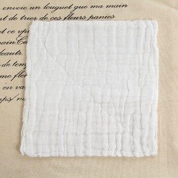 Six Layer Bath Towel Pure Cotton Gauze Infant Towel Newborn Bath Towel White Comfortable,Soft and Good Quality