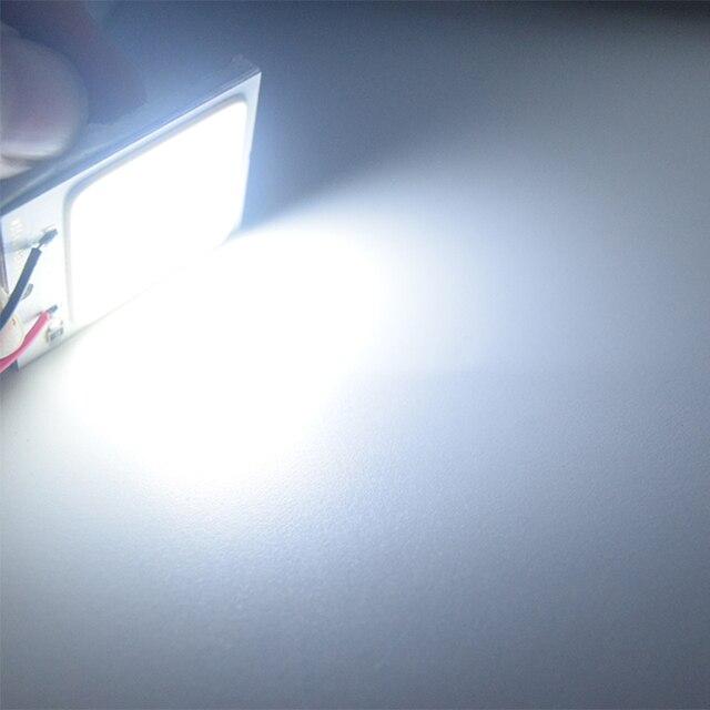 1pcs Auto Lamp Cob 48 SMD Chip  Reading Lamp Led T10 Bulb Led Car Parking Auto Interior Panel Light Festoon Car Accessories Signal Lamp    -
