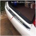 Для 2010-2016 Citroen C5 высокого качества Нержавеющаясталь заднего бампера протектор Подоконник Магистральные протектора плиты отделкой автомоб...