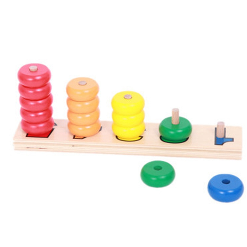 Family Parent-Child Early Education Combination Mathematics Teaching Aids Full Set Of Preschool Counts