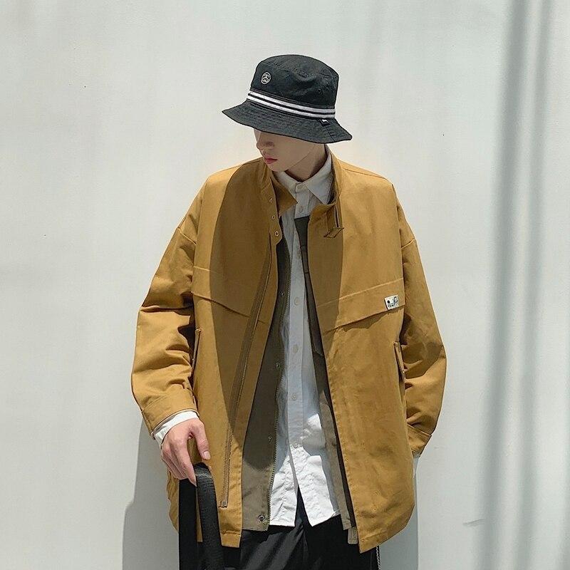 Hommes veste 2019 automne et hiver nouvelle veste outillage polyvalent veste lâche jeunesse personnalité mode tendance vêtements pour hommes