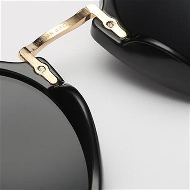 LeonLion-gafas De Sol redondas para hombre y mujer, lentes De Sol Retro De marca De diseñador, De moda, Vintage, De lujo 6
