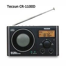 Tecsun CR-1100 DSP AM/FM цифровой тюнинговый стерео радио портативный Ham Радио 87-108 МГц/65-108 МГц/522-1620 кГц AM/FM радио T1217