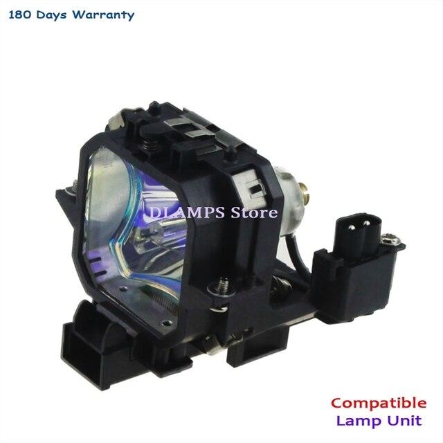 Bombilla de repuesto del proyector ELPL27 V13H010L27, compatible con EPSON EMP 54 / EMP 54C / EMP 74 / EMP 74C