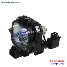Brand New lâmpada Do Projetor de Substituição ELPL27 V13H010L27 compatível com EPSON EMP 54/EMP 54C/EMP 74/EMP 74C projetores